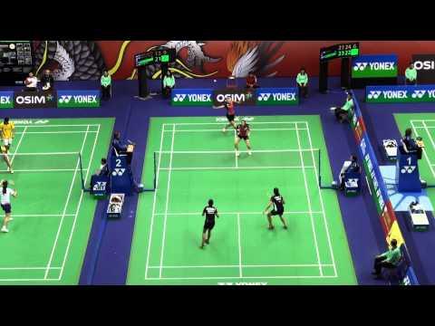 HK Open SS 2013 WD R1 - POON Lok Yan/TSE Ying Suet HKG, Anggia Shitta/Della DestiaraINA