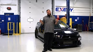 Autometer Garage Episode 7 Project Evo Twin Disc Clutch Installation Youtube