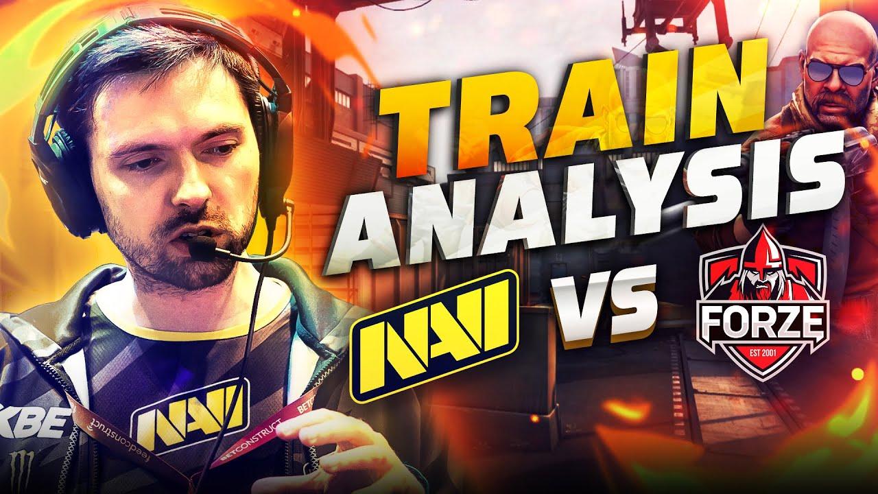 Аналитика от B1ad3: Атака на Train в матче NAVI vs Forze