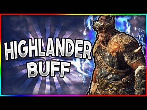 [For Honor] HIGHLANDER REWORK IS AMAZING! - Season 5 Gameplay