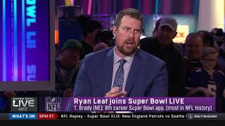 Ryan Leaf joins the show | Super Bowl LIVE | Feb 3, 2018