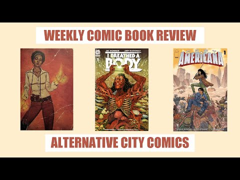 Weekly Comic Book Review / Abbott 1973 / I Breathed A Body / Post Americana