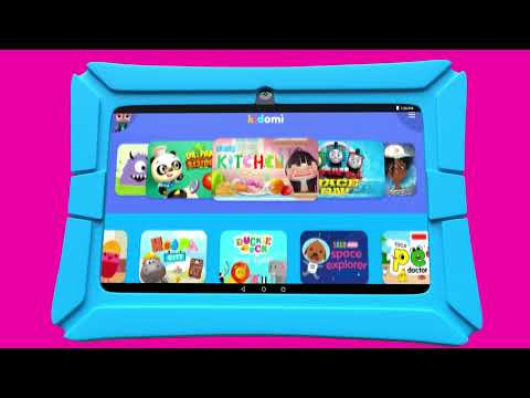 HighQ Learning Tablet & Kidomi - YouTube