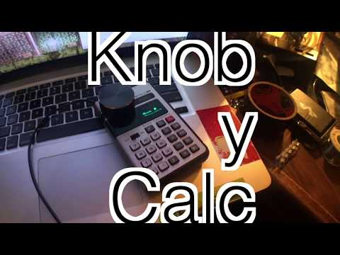 vintage calculator diy mouse knob buddy for cyberpunk retro