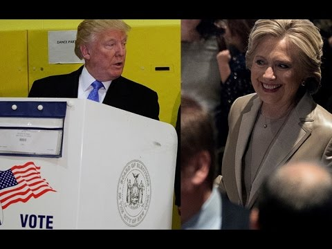US polls 2016: Clinton, Trump vote in New York