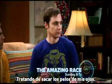 Sheldon y su corte de pelo!