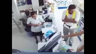 Asalto en farmacia