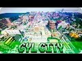 Minecraft - CYL City - Huge Suburban Town w/ Download