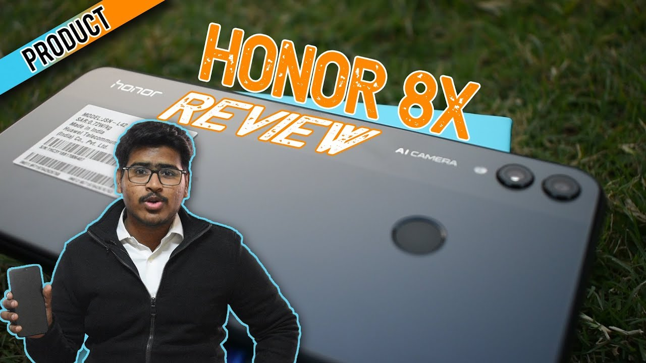 Honor 8X smartphone complete review with Pros & Cons - AI Camera - Kirin 710 🤩