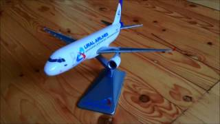 Обзор модели A320 Ural Airlines 1:200 - A320 model review