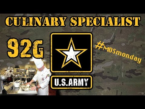92G | Culinary Specialist
