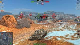 Obj.268 7243DMG 3Kills | World of Tanks Blitz | FORZAHORIZOM