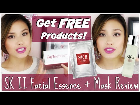 SK II FACIAL TREATMENT ESSENCE + MASK REVIEW | HOW TO GET FREE BEAUTY PRODUCTS