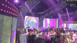 140928 SNSD TTS - Ending Cut @ Music Core [1080p]