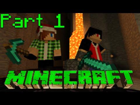 Minecraft Co-Op Walkthrough (Greek) Part 1: Κάθε αρχή και δύσκολη! ~w/ Menekratis~