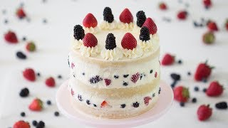 How to Make A Berry Cake