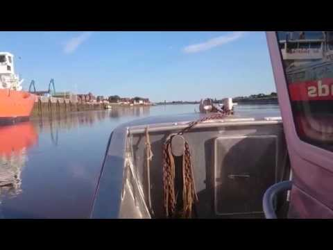 From the Point to my Kings Lynn  river mooring 19 07 15