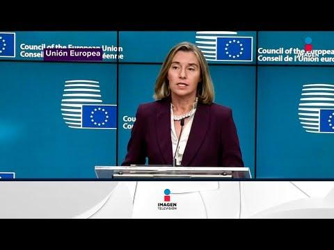 Europa vs Venezuela, castigos contra el gobierno de Nicolás Maduro | Noticias con Yuriria Sierra