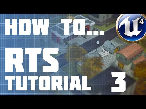 Unreal Engine 4: RTS :: Episode 3 - Camera Movements Part 2