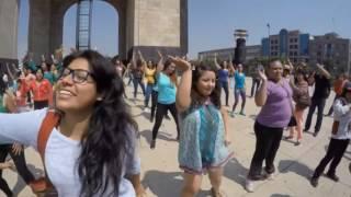 flashmob Ndjira - México 2016