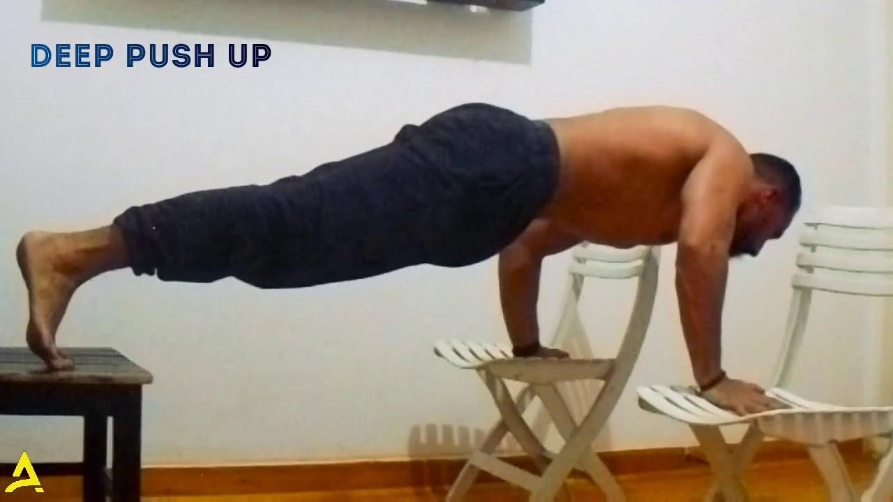 Pike push up - YouTube