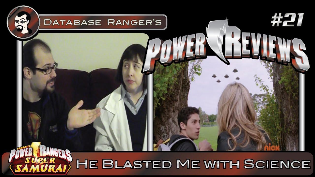Drpr 21 Power Rangers Megaforce Ep 2 He Blasted Me With Science