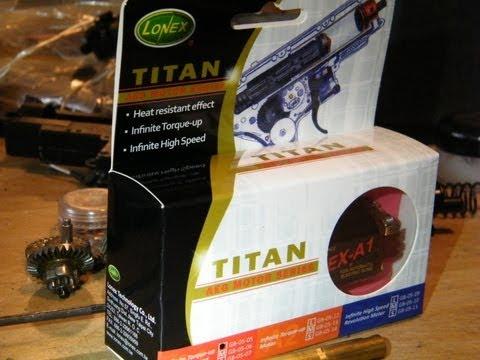 REVIEW: Lonex Titan A1 Airsoft Electric Gun Motor Motor  -ASTKilo23-