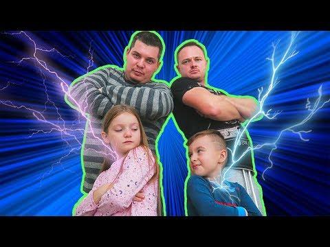 A Cui TATA e Mai PUTERNIC? | Sofia cu Alex pun Tatii la Incercare | Challenge pentru PARINTI