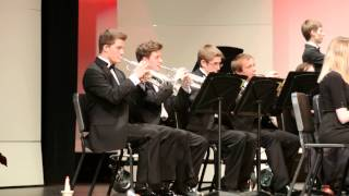 Sleigh Ride (written by Leroy Anderson) ~ S M West Wind Ensemble ~ 12-12-2013