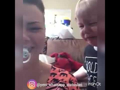 Gülmeli uşaq komik çocuk (Whatsapp status üçün video) 2018
