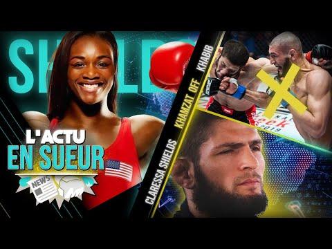 Khabib va rencontrer Dana White 👀 Khamzat vs. Edwards annulé 🚫 Claressa Shields débarque en MMA 😱