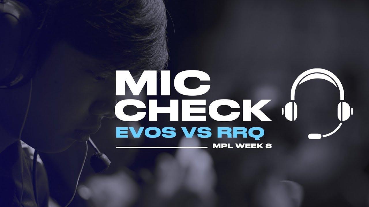Download MIC CHECK EVOS vs RRQ