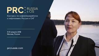 Ананьина А.Р. (АО «Линде Газ Рус») Интервью @ PRC Russia & CIS 2018, 9-10 апреля