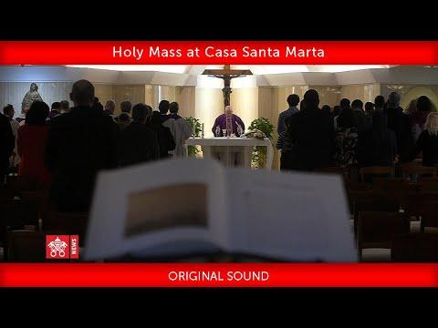 Pope Francis-Holy Mass at Casa Santa Marta 2020.03.25