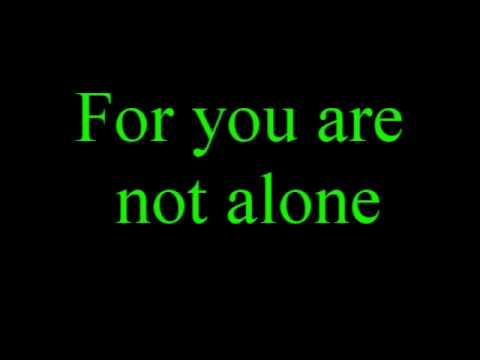 You are not alone - X factor finalists + Lyrics
