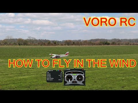 Voro's RC school: How to fly in the wind