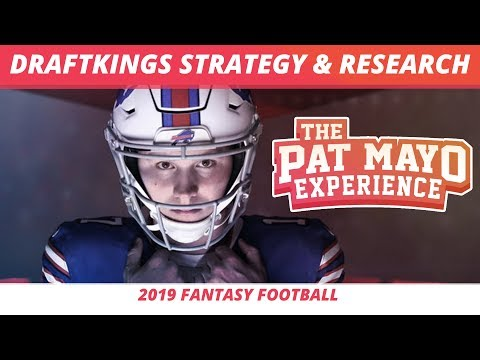2019 Daily Fantasy Football: NFL DraftKings Strategy, Research, Tools, And Showdown Strategy