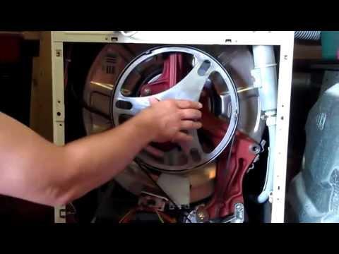 Geliefde Raar krakend geluid bij draaien trommel wasmachine; wat is hier KI07