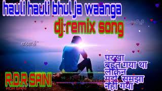 hauli hauli bhul javange punjabi song download mp3 DJ REMIX SONGS RDR SAINI