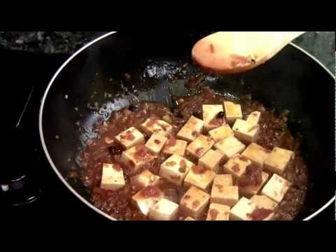 How to make vegetarian ma po tofu
