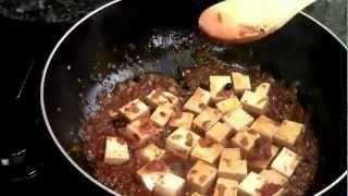 How To Make Vegetarian Ma Po Tofu