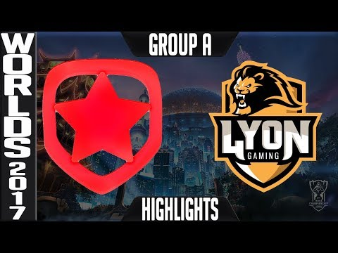 Gambit Esports vs Lyon Gaming Highlights S7 Worlds Play in Group A - World Championship GMB vs LYN