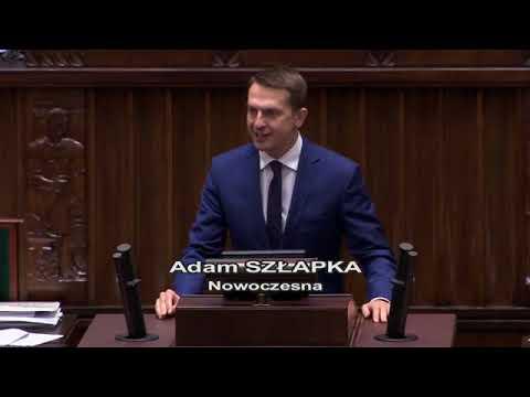 Adam Szłapka – wystąpienie z 8 grudnia 2017 r.