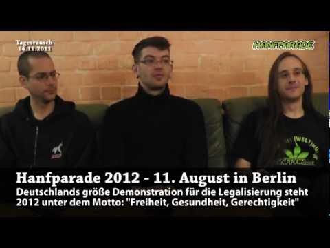 Hanfparade 2012: Freiheit, Gesundheit, Gerechtigkeit - Tagesrausch 14.11.2011