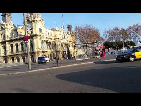 Paseo por Barcelona - Rambla - Raval - Universitat - Ciutat Vella (enero 2016)