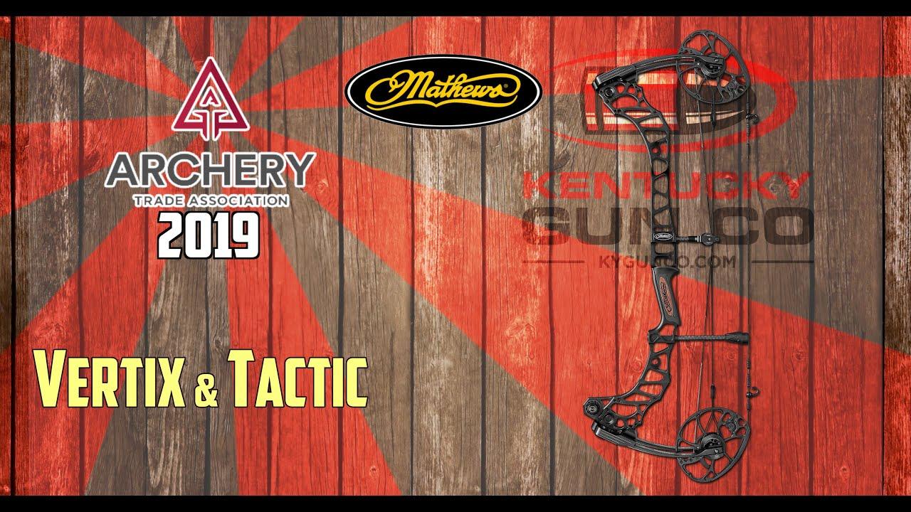 Mathews Vertix & Tactic Bows at ATA Show 2019 by Kentucky Gun Co