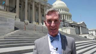 Bill Nye at the Planetary Science Caucus