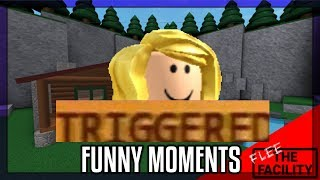 FLEE THE FACILITY FUNNY MOMENTS (gone intense) (roblox)