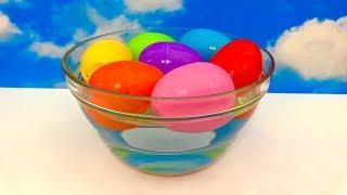 Original Water Surprise Eggs  मूल पानी आश्चर्य अंडे, पेप्पा सुअर, फ़ायरमैन सैम