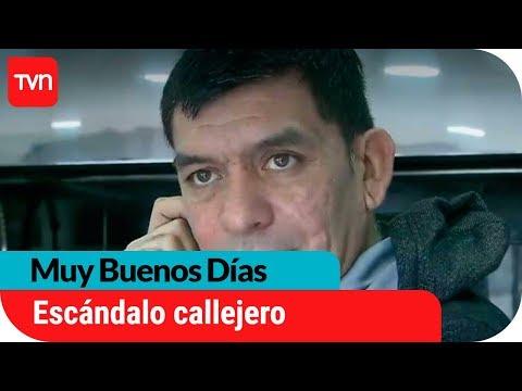 El escándalo callejero protagonizado por Huaiquipán y su esposa | Muy buenos días